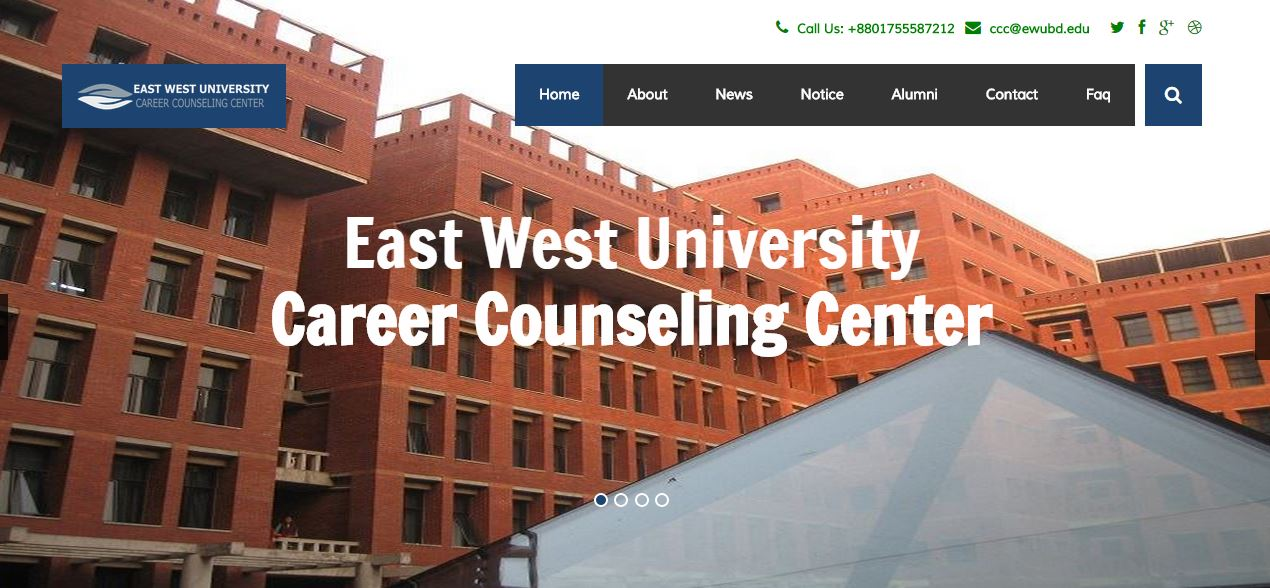 East West University Career Counseling Center